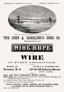 J A Roebling Sons Company Ad