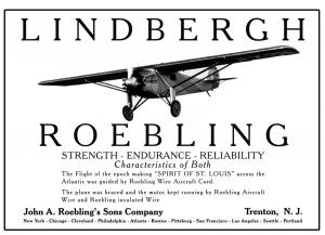 Lindbergh-Roebling-Ad