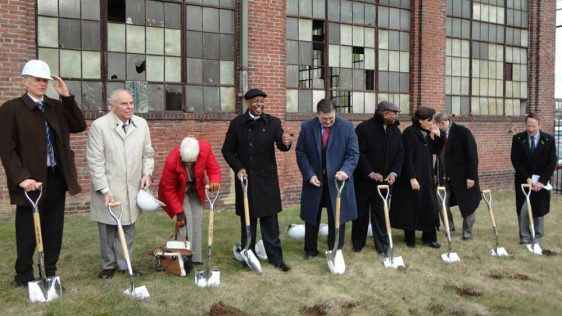 Groundbreaking shovels