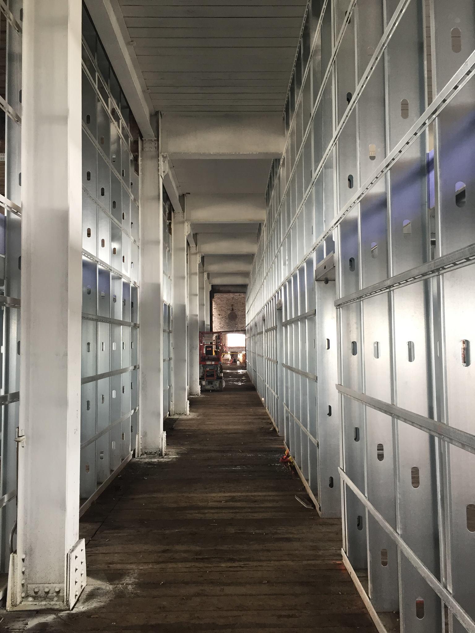 3rd Floor Corridor Roebling Lofts