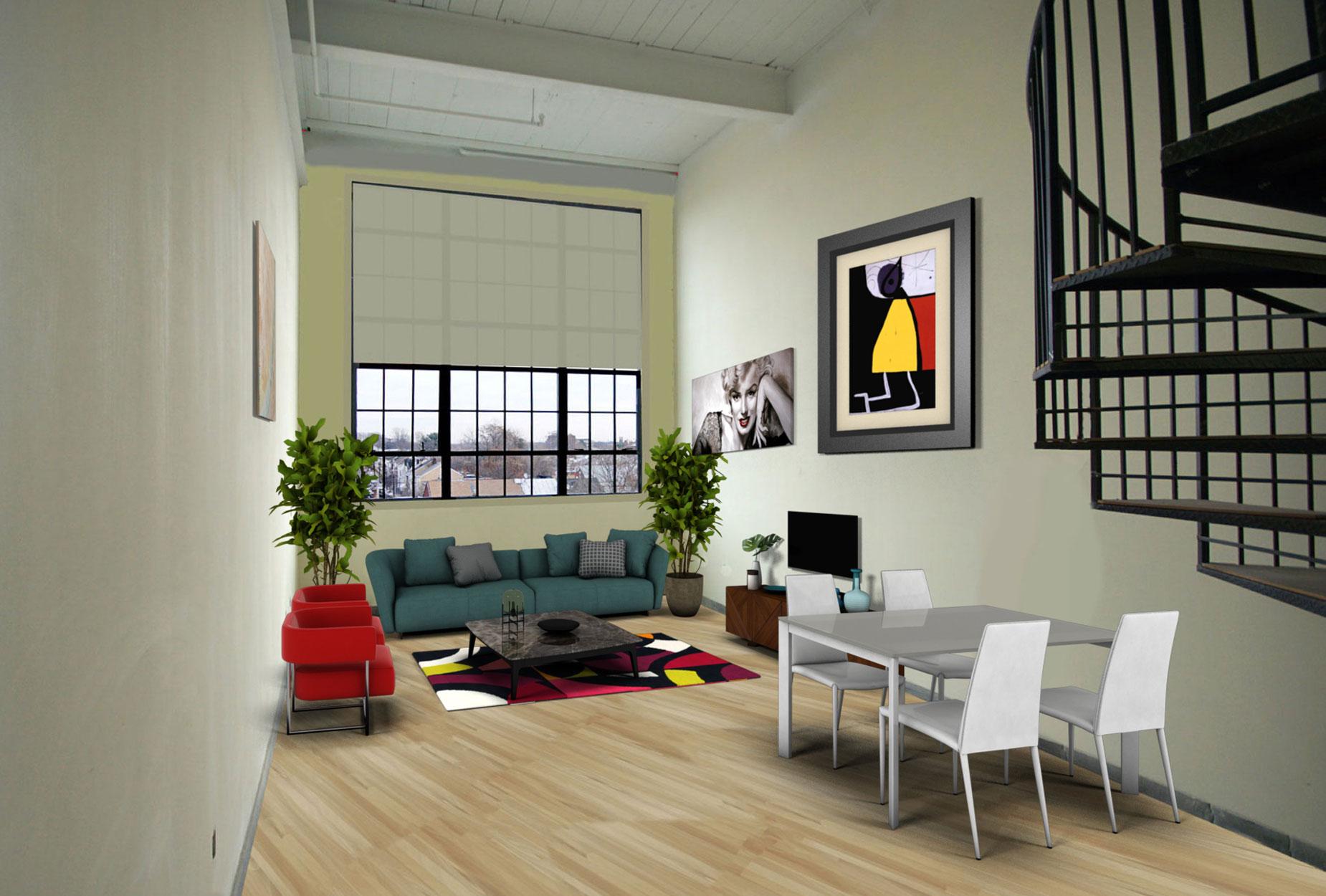 Looky looky roebling lofts - The wonder loft a visual experiment in manhattan ...