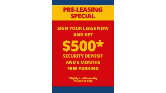Pre-Lease-Offer