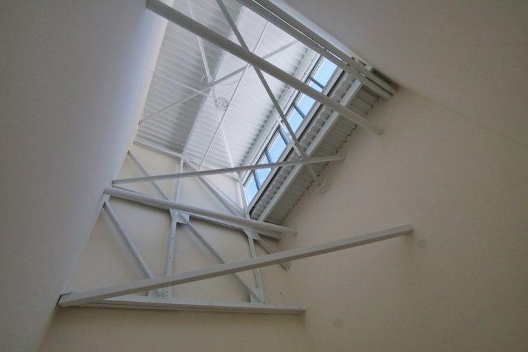 Wright Bros II bedroom ceiling