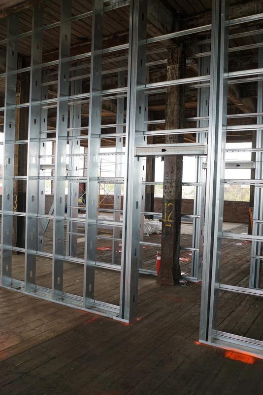 entryway as framed