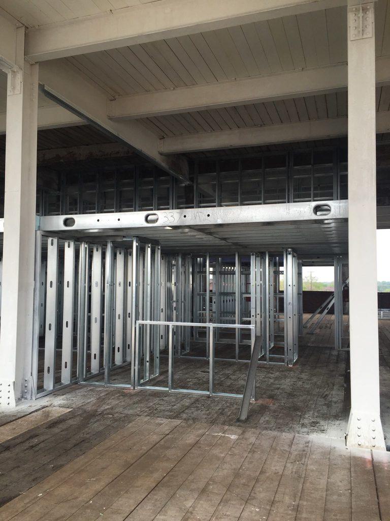 3rd floor framing