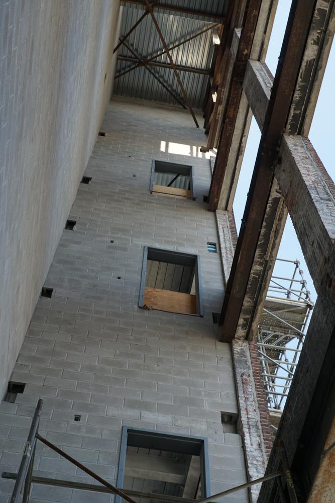 Fire stairwell