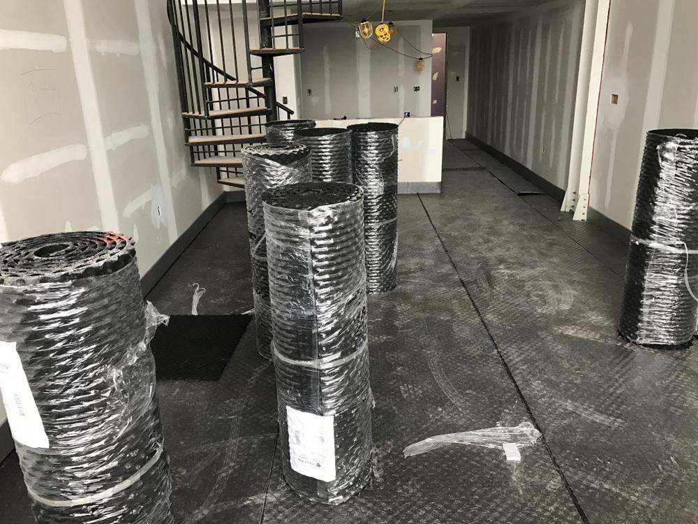 Sound-insulation-floor-padding
