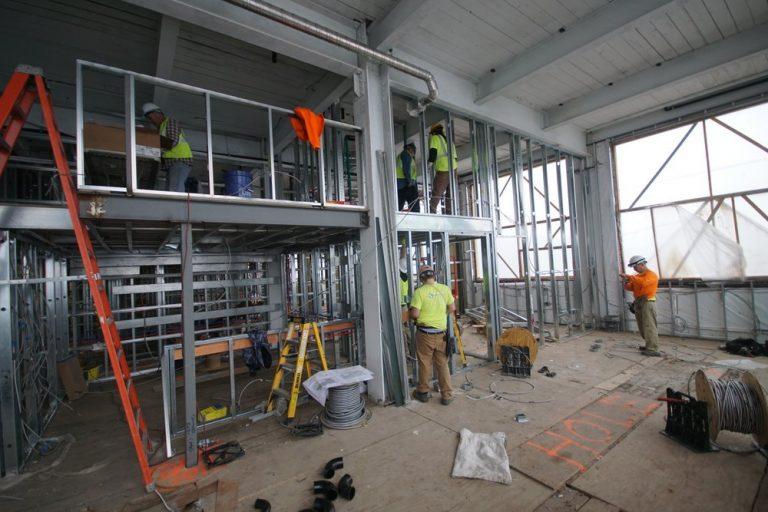 wiring GWB 2nd floor