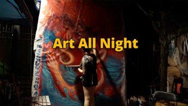 Art All Night